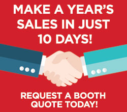 Make a years worth of sales in 10 days