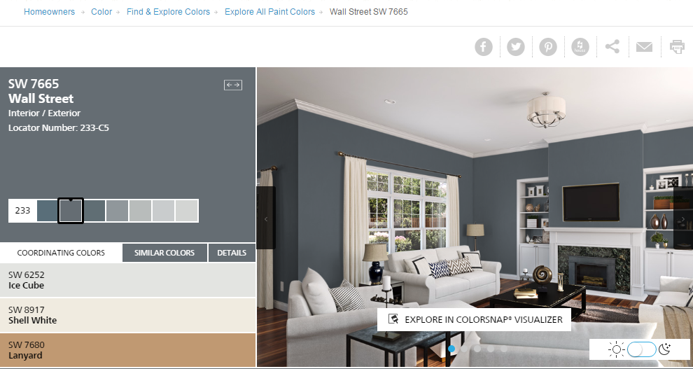 Sherwin Williams Color Select